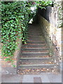 TA0387 : Flight of steps between Valley Road and Westbourne Park, Scarborough by John S Turner