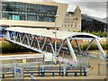 SJ3390 : Mersey Ferry Terminal Walkway, Liverpool Pier Head by David Dixon