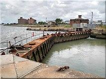 SJ3290 : East Float Lock by David Dixon
