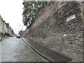 NT2673 : Flodden Wall in Drummond Street by PAUL FARMER