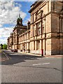 SJ3288 : Brandon Street, Birkenhead Sessions Court and Town Hall by David Dixon