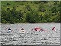 NY3818 : Kayaks on Ullswater by Gareth James