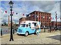 SJ3389 : Mister Softee Ice Cream Van at Albert Dock by David Dixon