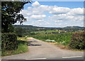SY2896 : Track to Slymlakes Farm by Derek Harper