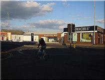 TL4658 : Shops on Newmarket Road by Hugh Venables