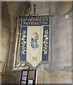 TA3122 : St Patrick's Church - Mothers' Union Banner by Betty Longbottom