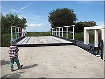 TG4419 : The new bridge at Martham Ferry by Evelyn Simak