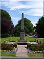 TL1658 : War memorial in Eaton Socon by Richard Humphrey
