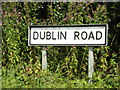 TM1570 : Dublin Road sign by Adrian Cable