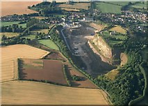 SK4023 : Breedon Hill Quarry by Anthony Parkes