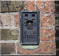 TQ3877 : Flush Bracket, Greenwich by Rossographer