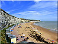 TR3968 : East Cliff, Broadstairs by pam fray
