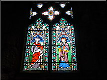 SK2381 : St Michael, Hathersage: stained glass window (I) by Basher Eyre