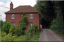 TQ6668 : Byway & Owletts Cottage by Glyn Baker