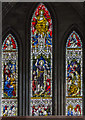 SO8454 : The Britten Window, Worcester Cathedral by Julian P Guffogg