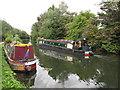 TQ1484 : Stardust, narrowboat on Paddington Branch canal by David Hawgood