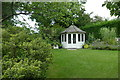SE2854 : Summer house and lawn at RHS Garden Harlow Carr by Graham Hogg