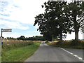 TM1367 : High Lane, Wetheringsett by Adrian Cable