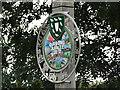 TG1931 : Erpingham Diamond Jubilee village sign by Adrian S Pye