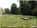 TM1266 : All Saints Churchyard by Adrian Cable