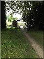 TM1266 : All Saints Church Path to Church Street by Adrian Cable