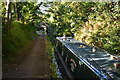SJ9003 : Extremely narrow section of the Staffordshire and Worcestershire Canal by David Martin