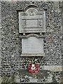 TG2227 : Tuttington War Memorials by Adrian S Pye