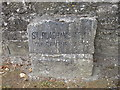 M9104 : Stone marking St, Ruadhan's Well by Jonathan Thacker