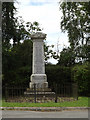 TM1265 : Wetheringsett War Memorial off Hockey Hill by Adrian Cable