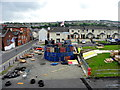 C4316 : The makings of a bonfire, Derry / Londonderry by Kenneth  Allen