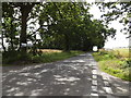 TM1268 : Thwaite Road, Thwaite by Adrian Cable