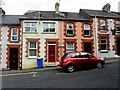 H4472 : Colourful houses, Omagh by Kenneth  Allen