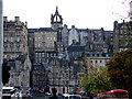 NT2573 : A view towards St Giles from Princes Street by John Lucas