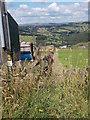 SE0718 : Footpath - Moor Hey Lane by Betty Longbottom