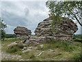 SE8790 : Bridestones, Stain Dale Moor, Yorkshire by Christine Matthews