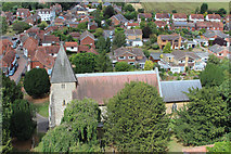 TQ6349 : St Mary's Church, Hadlow by Oast House Archive
