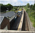SM9438 : Through Fishguard and Goodwick railway station by Jaggery
