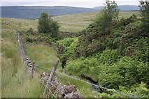NS5077 : Craigton Burn by Richard Sutcliffe