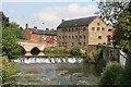 SK1039 : Rocester Corn Mill by Chris Allen