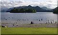 NY2622 : Derwentwater from Crow Park, Keswick by Ian Taylor