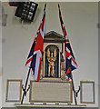 TG2539 : The War Memorial in Sidestrand church by Adrian S Pye