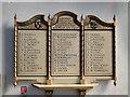 TG2830 : The WW2 Memorial in North Walsham church by Adrian S Pye