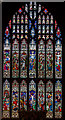 TF3287 : East window, St James' church, Louth by J.Hannan-Briggs