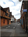 TM1644 : Silent Street, Ipswich by Adrian Cable