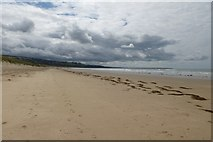 SH5631 : South along the beach by DS Pugh