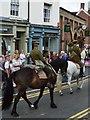 SK0043 : War horses in High Street by John M