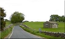 SE0361 : Toilet block on the edge of Burnsall by David Smith
