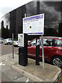 TM1644 : Cromwell Square Car Park Ticket Machine by Geographer