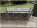 TM1644 : Cromwell Square sign by Adrian Cable