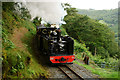 SN7277 : 'Prince of Wales' Passing Rhiwfron Station by Peter Trimming